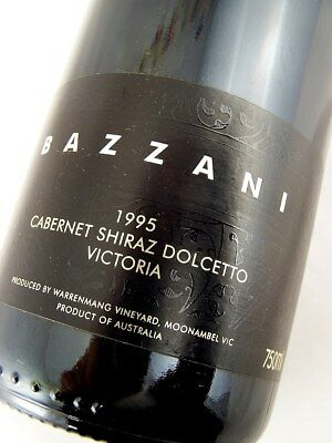 1995 WARRENMANG Bazzani Red Blend Isle of Wine