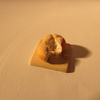 Artisan made doll house miniature food~cut bread~1/24 scale~