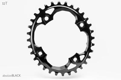 AbsoluteBlack SRAM 94BCD X01, X1, GX Oval Chainring | 32T | Black