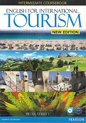 Pearson ENGLISH INTERNATIONAL TOURISM Intermediate Coursebook with DVD-ROM @New