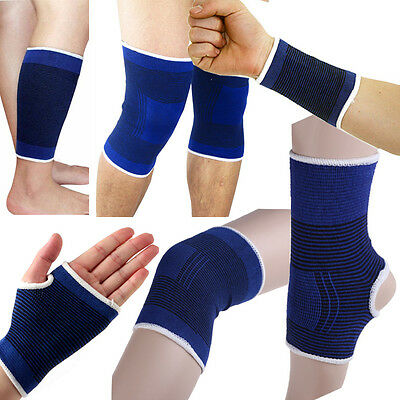 Elastic Strain Strap Compression Arthritis Support Brace Gym Sports Bandage New