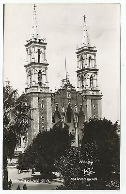 POSTCARD-MEXICO-MAZATLAN-RP. The Cathedral.