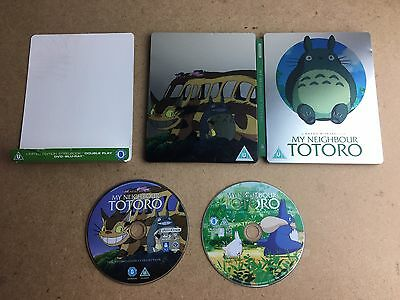 My Neighbour Totoro - Limited Edition Steelbook (DVD and Bluray) Ghibli