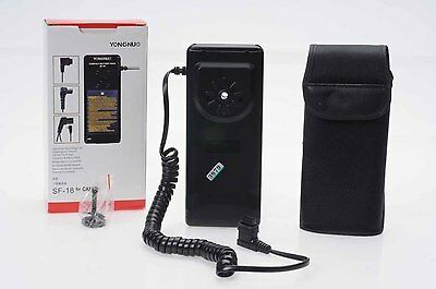 Yongnuo SF-18 Digital Compact Battery Pack for                              #879
