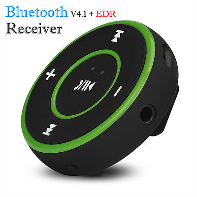 Wireless Bluetooth 3.5mm Audio Stereo Adapter Car AUX Music Receiver Dongle GN