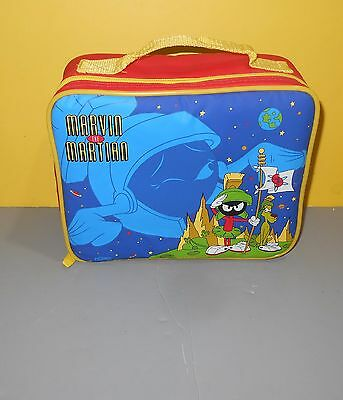 New 1995 Thermos Marvin the Martian Insulated Lunch Bag Box w/ Thermos