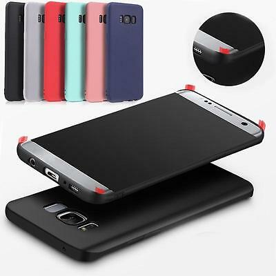 SLIM Soft TPU Case For Samsung Galaxy S8 S8+ Shockproof Rubber Protective Cover