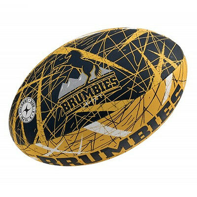 Canberra Brumbies Gilbert Supporter Rugby Union Ball Full Size