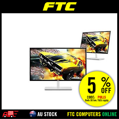 AOC Q3279VWF8 32inch White Gaming Monitor QHD 2560x1440 FREESYNC DP/HDMI/DVI/VGA