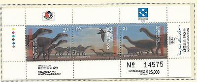 1994 Philakorea No 14575 of 25,000  Mini Sheet  Complete MUH/MNH as Issued