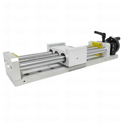 Manual Linear Stage Actuator Slide Module 200MM Motion Table CNC Milling Router