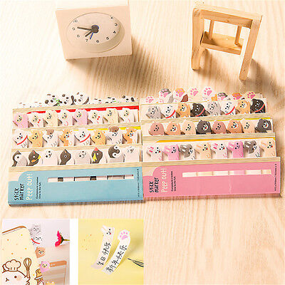 1pc Animal Sticker Bookmark Marker Memo Flags Sticky Notes Stationery