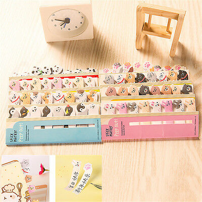 1pc Animal Sticker Post-It Bookmark Marker Memo Flags Sticky Notes Stationery