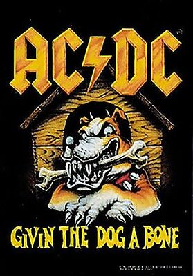 AC/DC - Givin The Dog A Bone - Flagge Posterfahne Textilposter Flag #920078