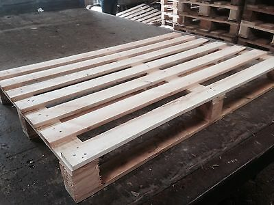 Once Used Clean Unstamped Euro Pallet