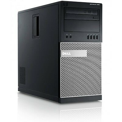 Dell OptiPlex Fast cheap Desktop Core i5 8GB 2TB HDD Windows 10 Tower Business