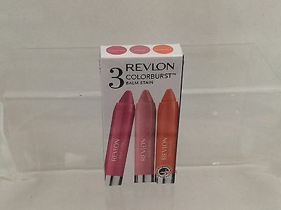 Revlon Colorburst Balm Stain crayons - Sweetheart/Honey/Rendezvous Boxed