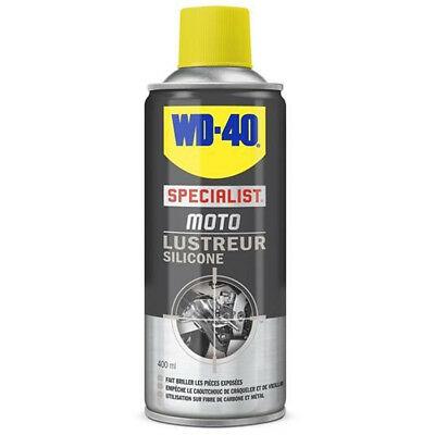 Spray WD-40 LUSTREUR SILICONE SPECIAL MOTO 400 ML