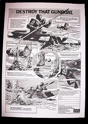 Vintage Special Boat Service Sbs Royal Marines Commando Recruitment Posters