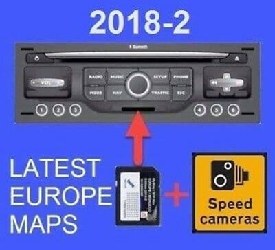 2017-1 (2016-2017) SD Card Map Update for RNEG Peugeot WipNav and Citroen MyWay