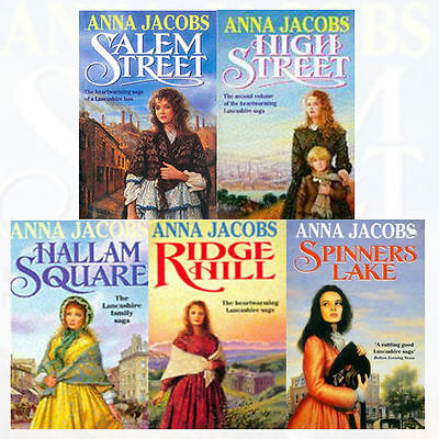 Gibson Family Saga Series Collection 5 Books Set By Anna Jacobs, Ridge Hill
