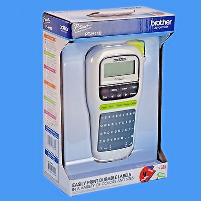 Brother P Touch Pt H110 Easy Handheld Label Maker White