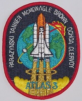 Aufnäher Patch Raumfahrt NASA STS 66 Space Shuttle Atlantis ...........A3044