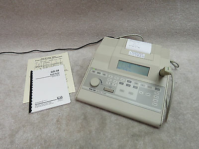 GSI 38 Auto Tympanometer and Audiometer - Great shape VERSION 1