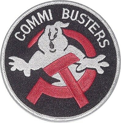Patch Aufnäher COMMI BUSTERS ..............A2437