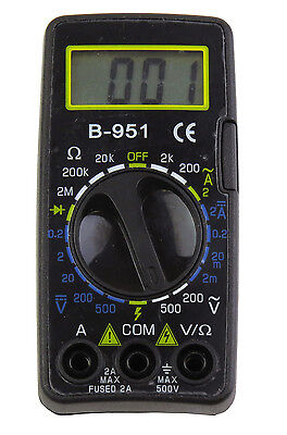 TekPower B-951 Digital Mini Size AC/DC Voltage Current Multimeter