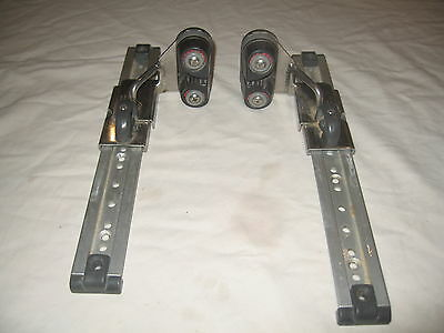 Enterprise Dinghy Sliding Fairleads And Jib Cleats.