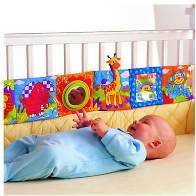 Baby Colorful Gift New Plush Educational Toy Cloth Book Bed Doll