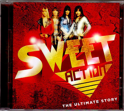 2 CD (NEU!) . Best of SWEET (Love is like Oxygen Co-co Fox on the Run mkmbh