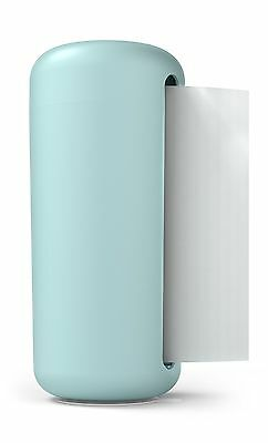 """SiliconeZone Karim Collection 6.3"""" Silicone Paper Towel Holder Blue"""