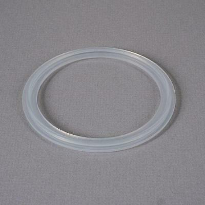Silicone Gasket | Tri Clamp/Clover 3 inch Platinum Cured - FDA (2 Pack)