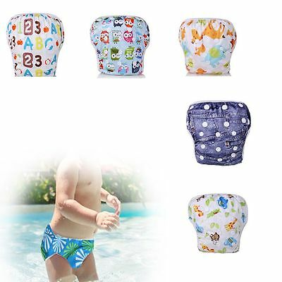 Washable Fashion Baby Product Summer Pants Swim Diaper Waterproof Nappy