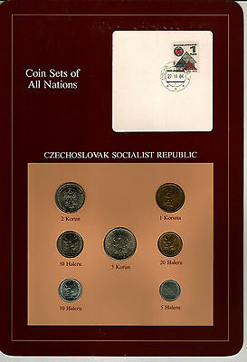 Nicely Packaged Uncirculated Coin Set From The Czech Republic