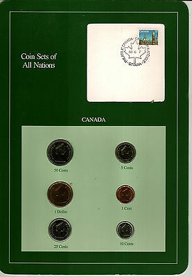 Nicely Packaged Uncirculated Coin Set From Canada