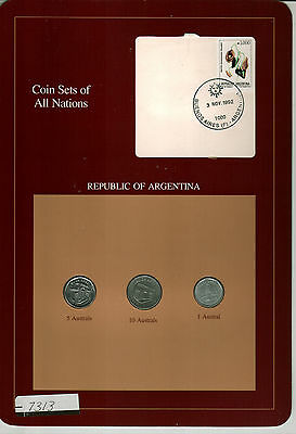 Nicely Packaged Uncirculated Coin Set From Argentina