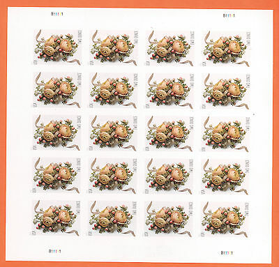 US Celebration Corsage Stamp 2 Ounce Rate 70c Full Pane Of 20