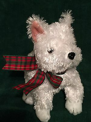 TY Beanie Baby - KIRBY the White Terrier Dog - Pristine with Mint Tags - RETIRED