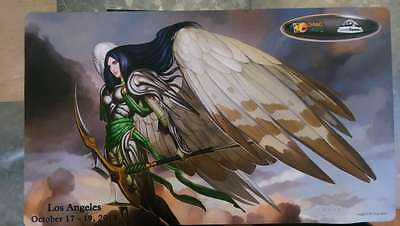Los Angeles  mtg playmat magic the gathering angel playmat NEW