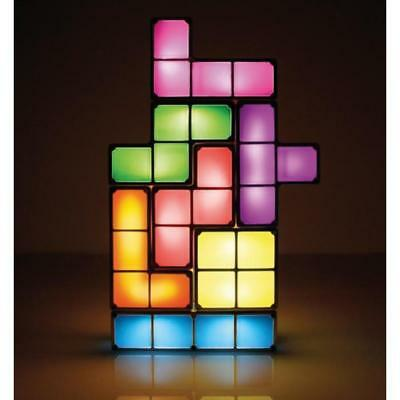 Stackable Building Blocks LED Lamp | Build Construct Tetris Inspired