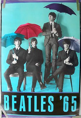 Rare The Beatles 1987 Vintage Original Music Poster