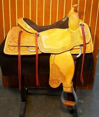 SRS Reining Saddle Square Skirts NEW