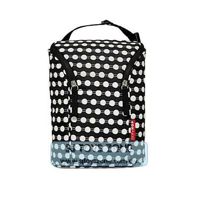 Skip Hop Grab and Go Double Insulated Warmer/Chiller Bottle Bag - Connect Dots