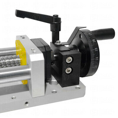 500MM Linear Rod Actuator Motion Cross Sliding Module with Handwheel Milling CNC