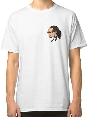 Quavo (Migos) Men's White Tshirt S-2XL
