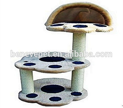 Cat Tree Scratching Post Scraping Climbing Kitten Tree Activity Centre 8003