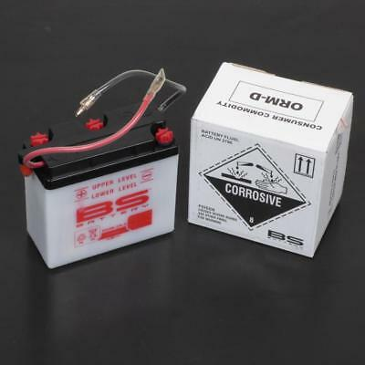Battery 6N4B-2A-3 BS 6V 4Ah Suzuki motorcycle 500 DR S 1981 1982 1983 New